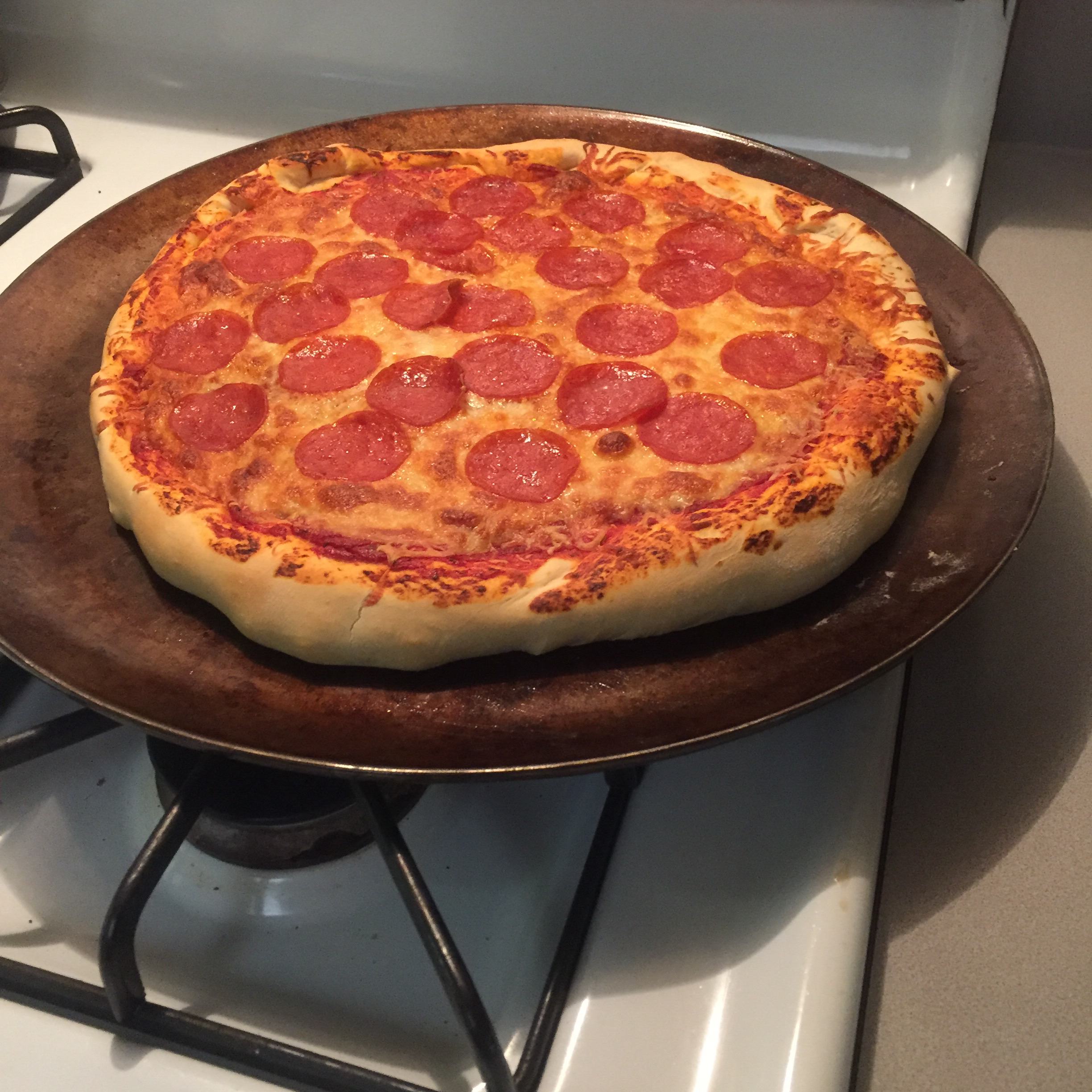 Homemade Pepperoni Pizza Chef Binns