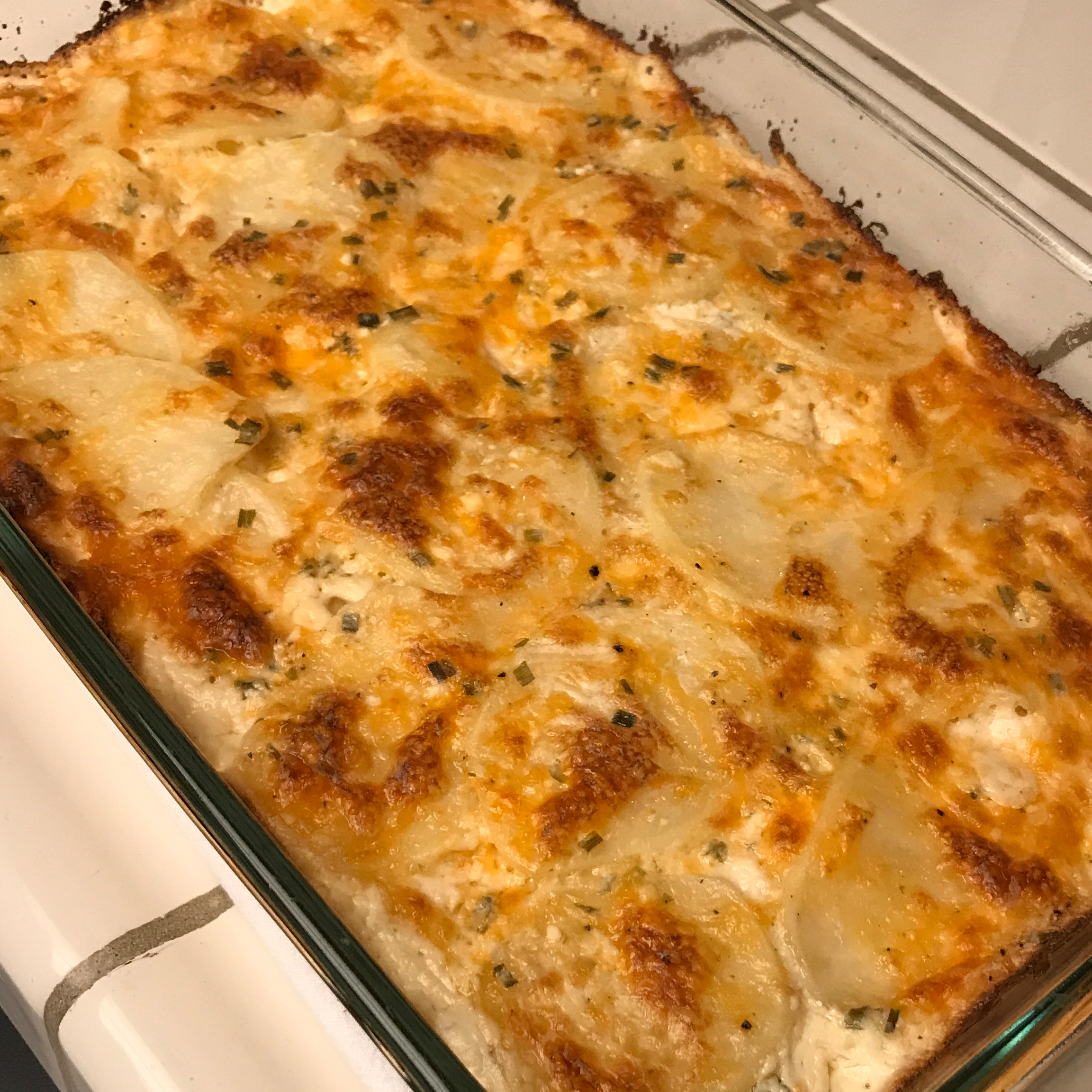 Creamy Scalloped Potatoes Inez Berka- Sanchez