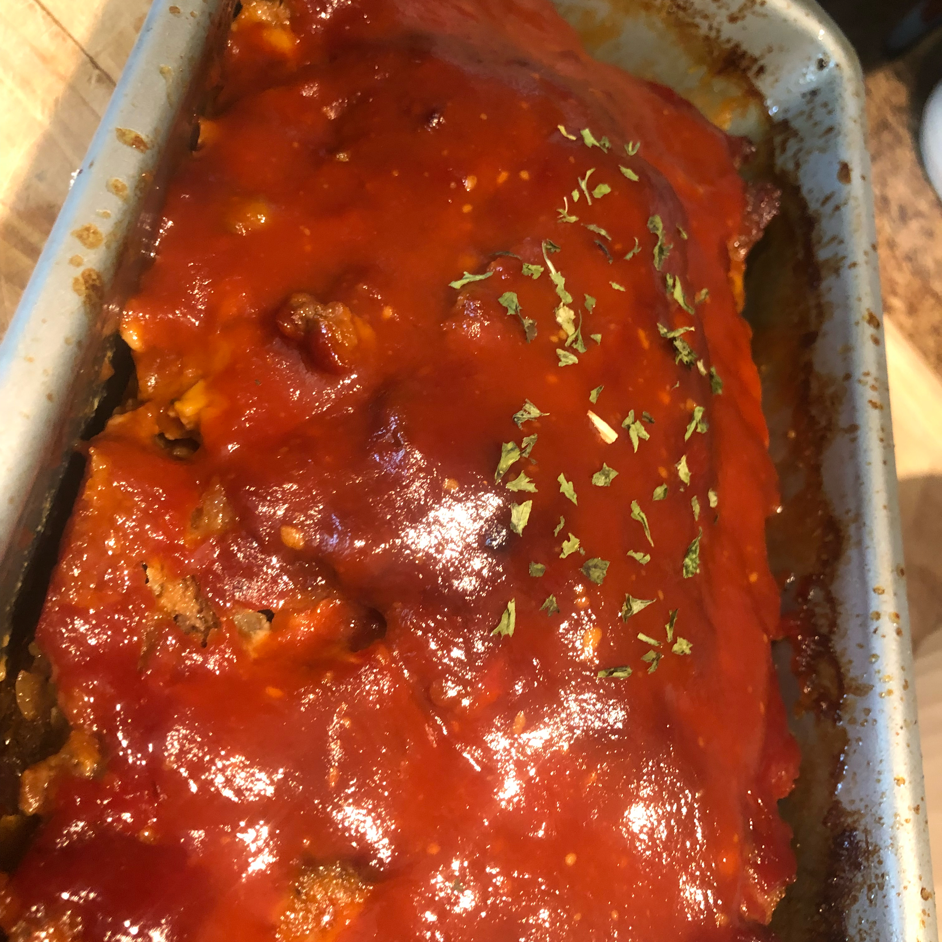 Aunt Libby's Southern Meatloaf