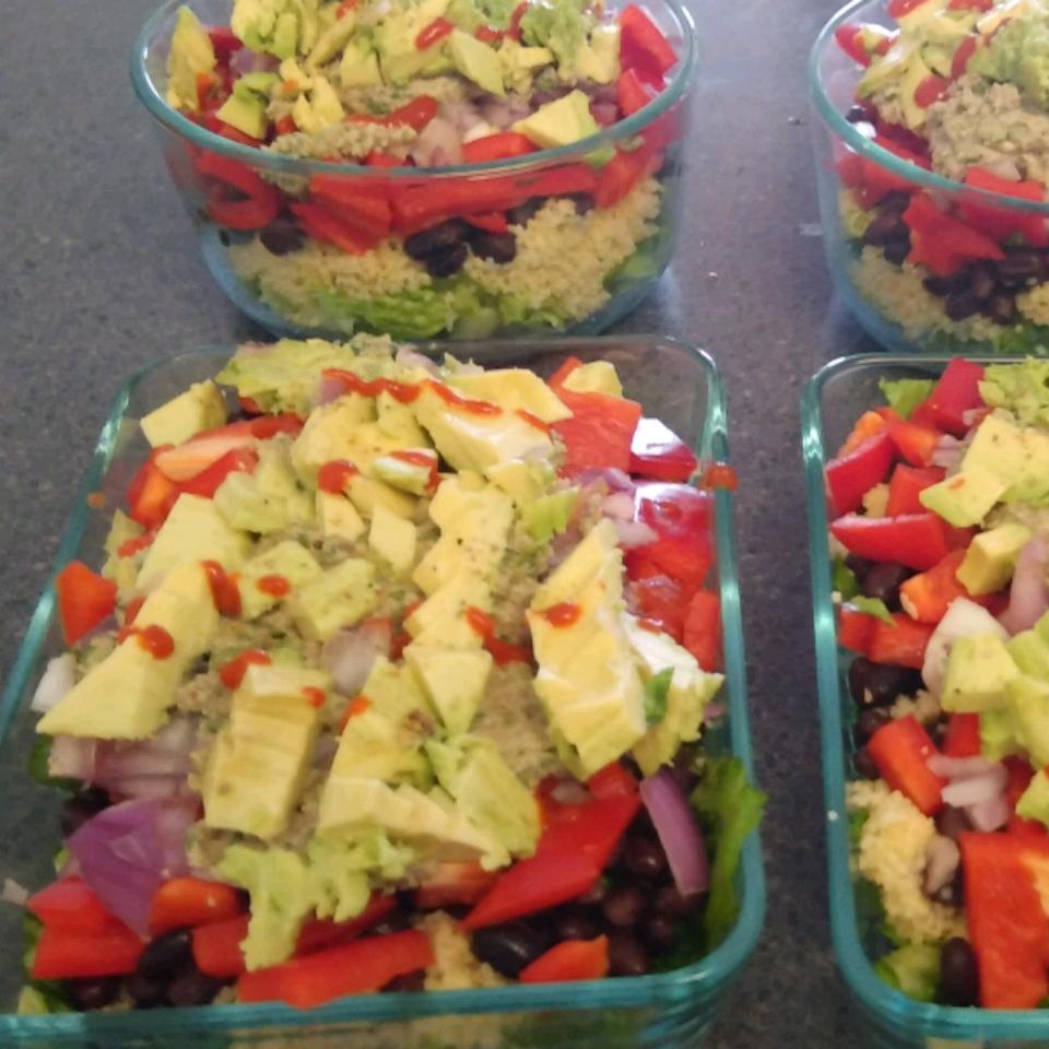 Vegan Mexican Quinoa Bowl with Green Chile Cilantro Sauce Nicholas Bobbs
