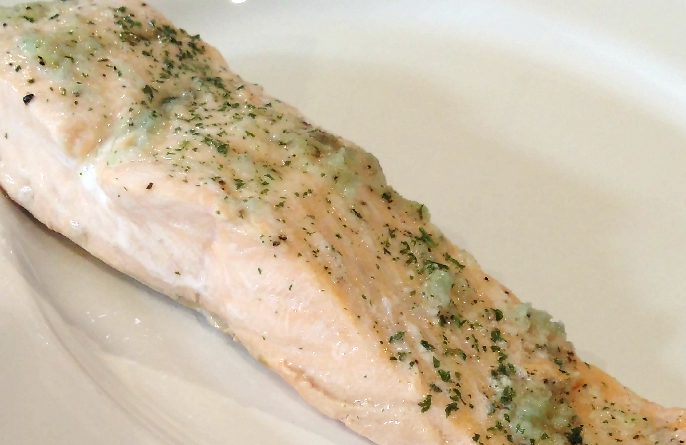 Poached Salmon II Bren