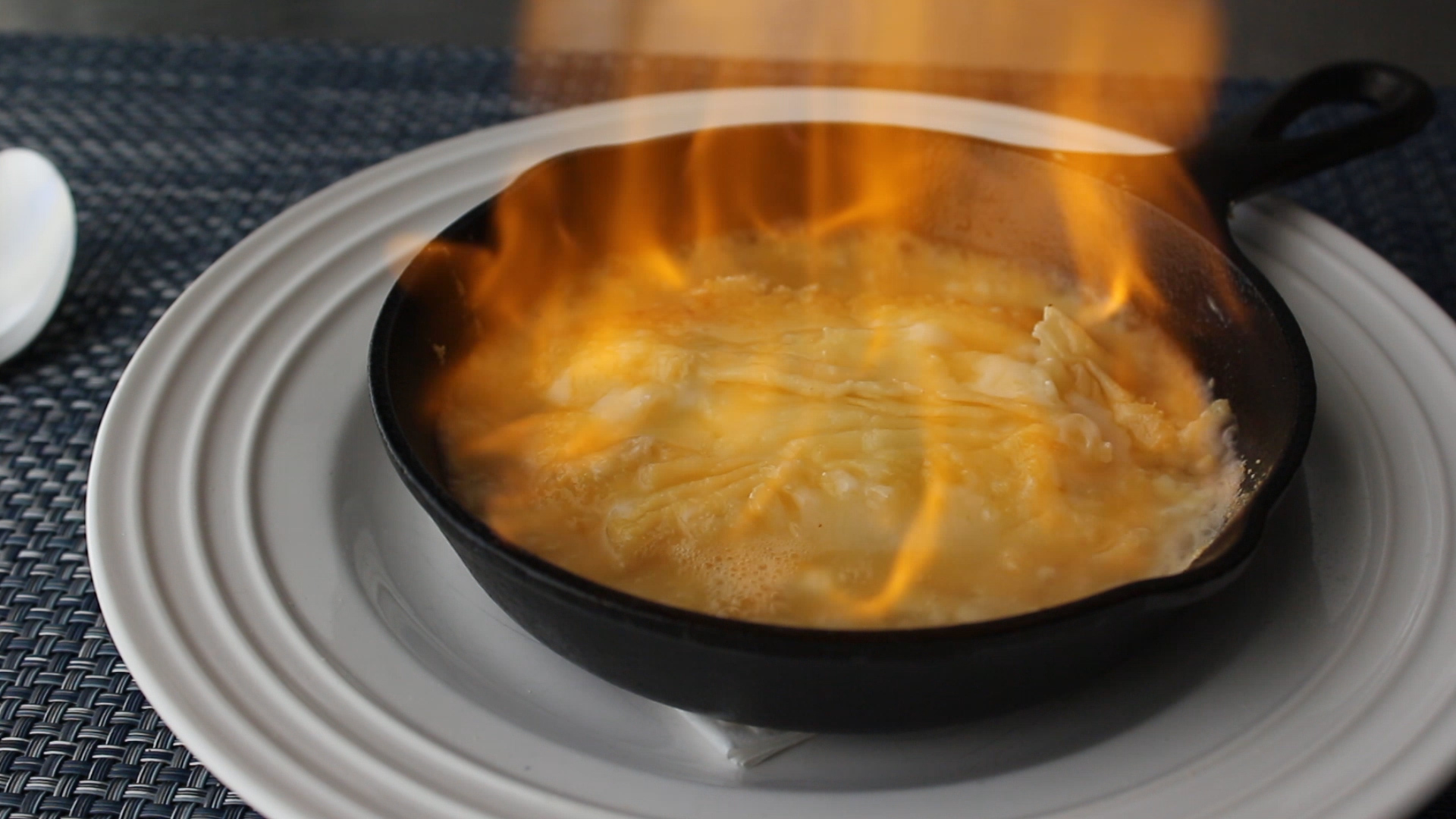 Flaming Greek Cheese (Saganaki)