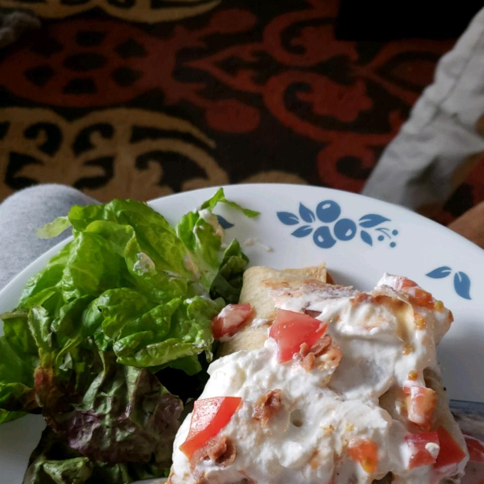 Beef and Bean Chimichangas lisa1284