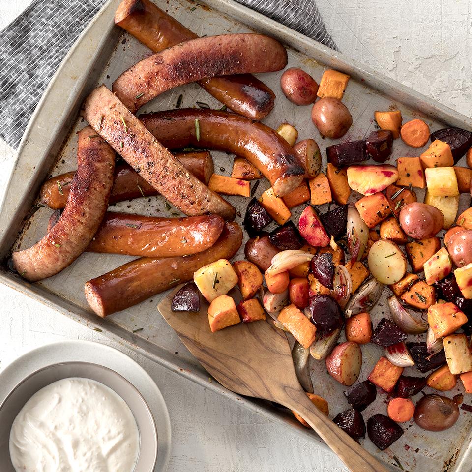 Hillshire Farm® Smoked Sausage and Roasted Root Veggies