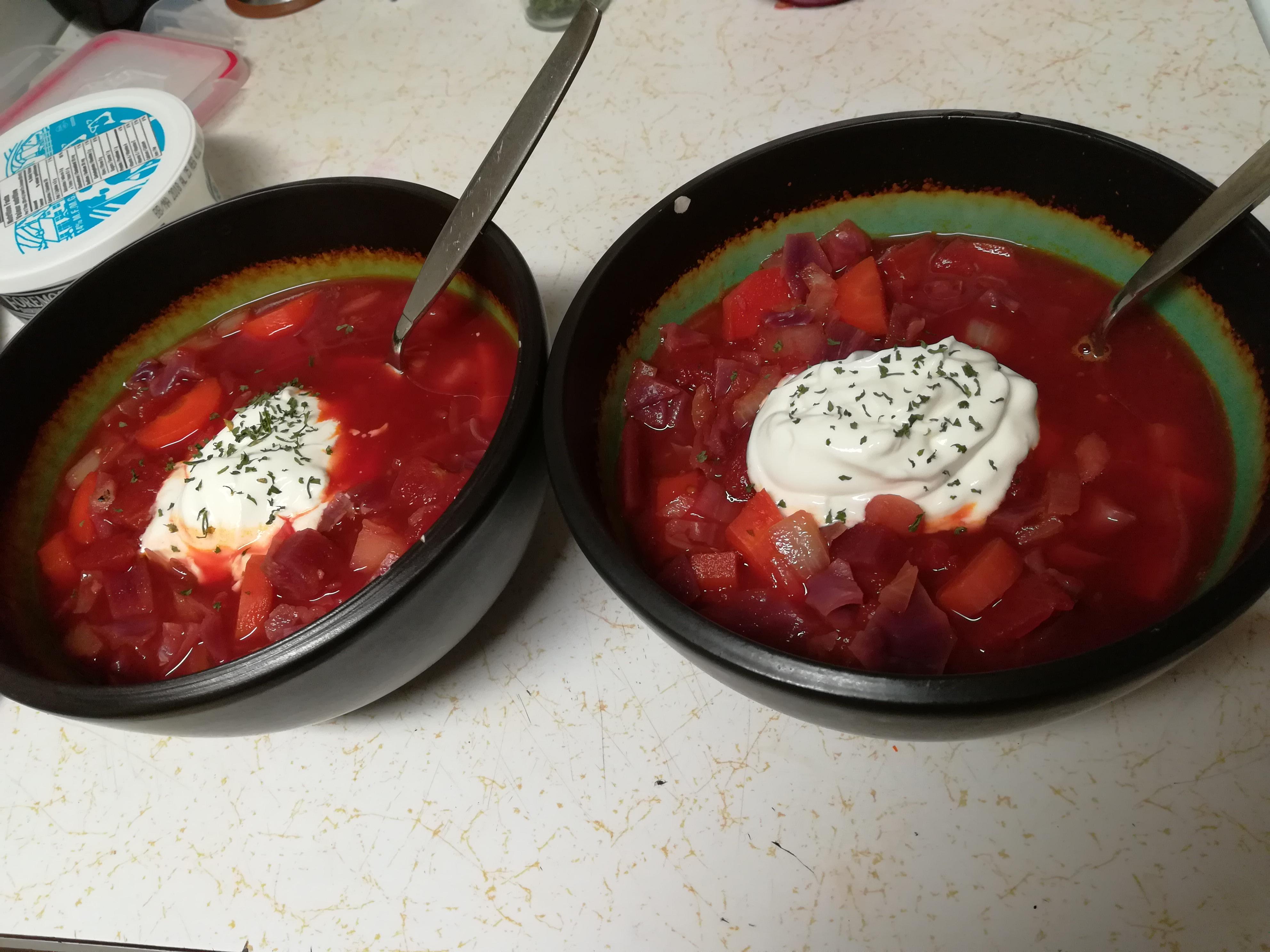 Ukrainian Red Borscht Soup Euan James Kelly