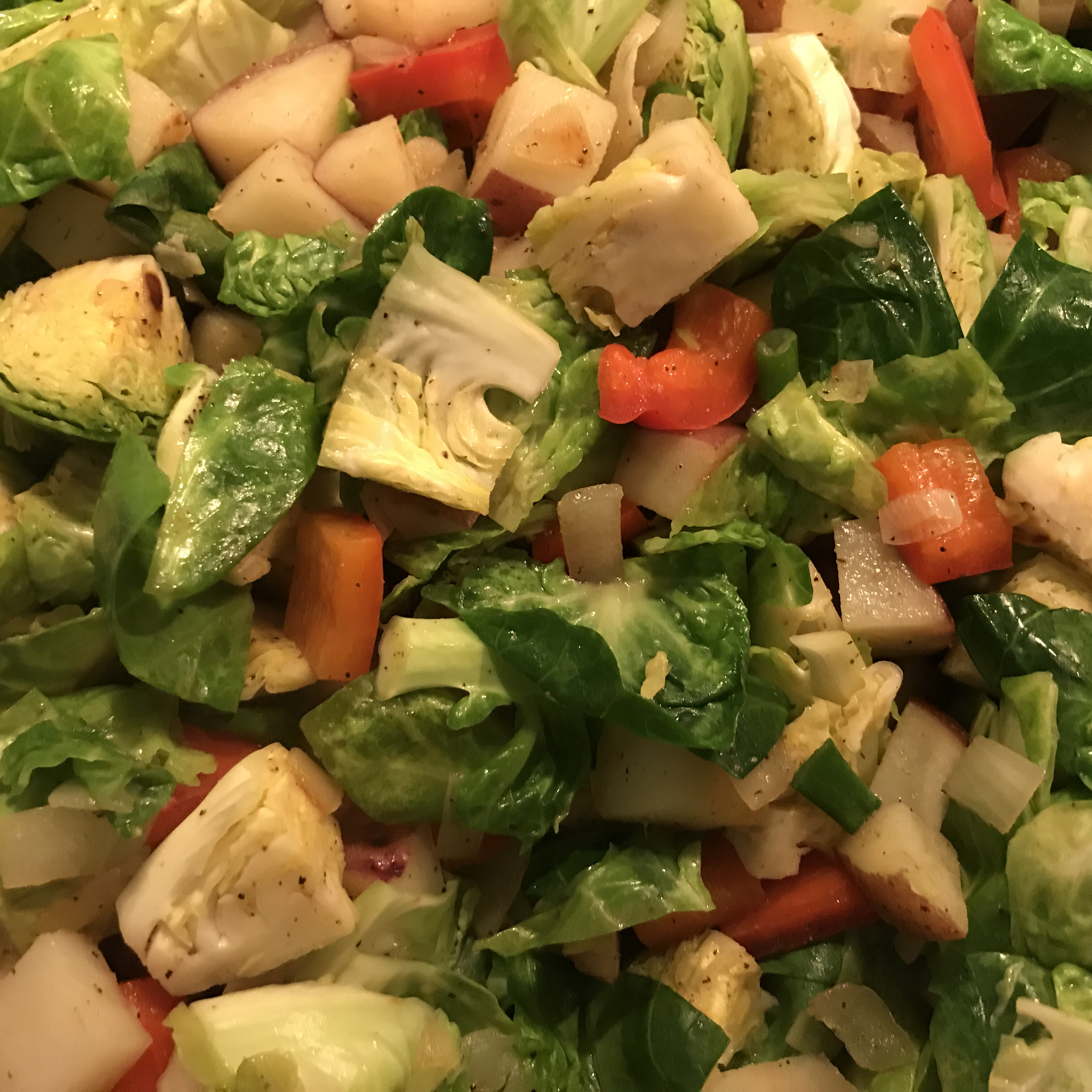 Brussels Sprouts Stir Fry Erika Powell