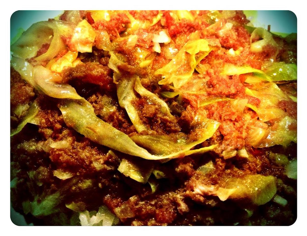 Filipino Corned Beef and Cabbage
