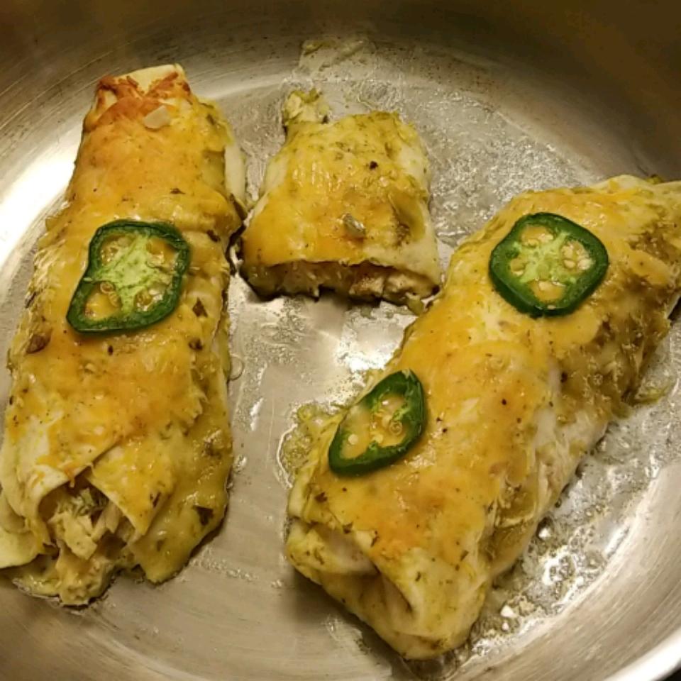 Jalapeno Cream Cheese Chicken Enchiladas Julia Downer