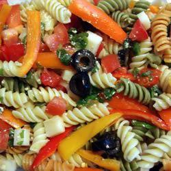 Three Pepper Pasta Salad