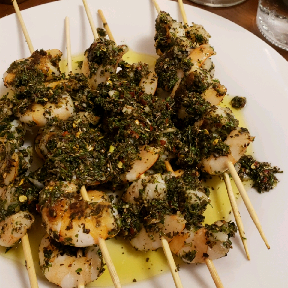 Chef John's Grilled Garlic and Herb Shrimp Clara Nichols