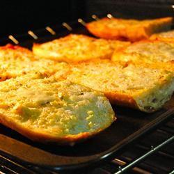 The Most Incredible Garlic Bread