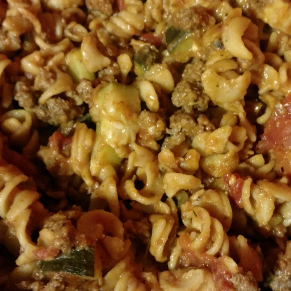 Debbie's Zucchini Skillet Dinner