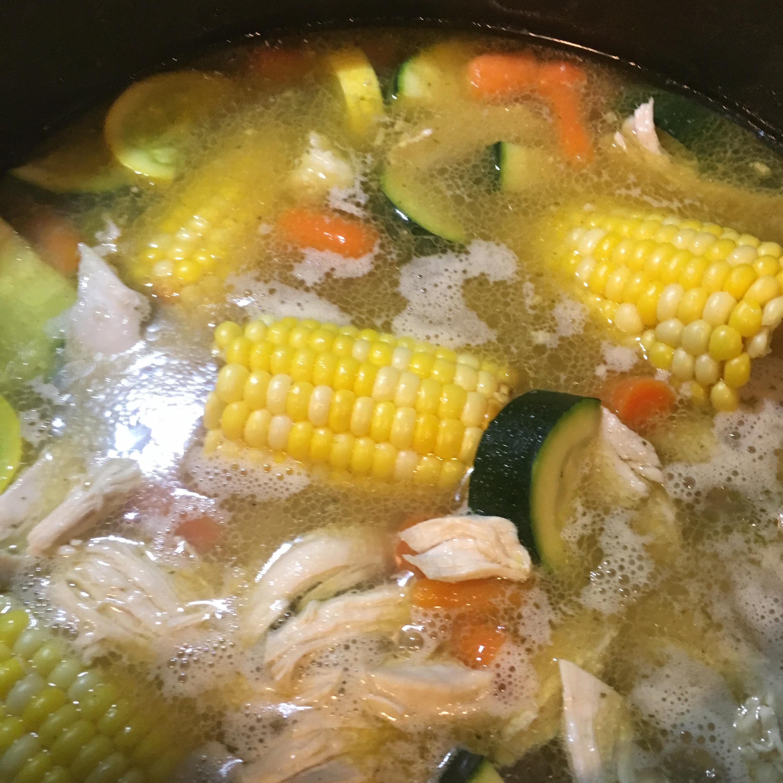 Caldo De Pollo (Mexican Chicken Soup) Star Crow