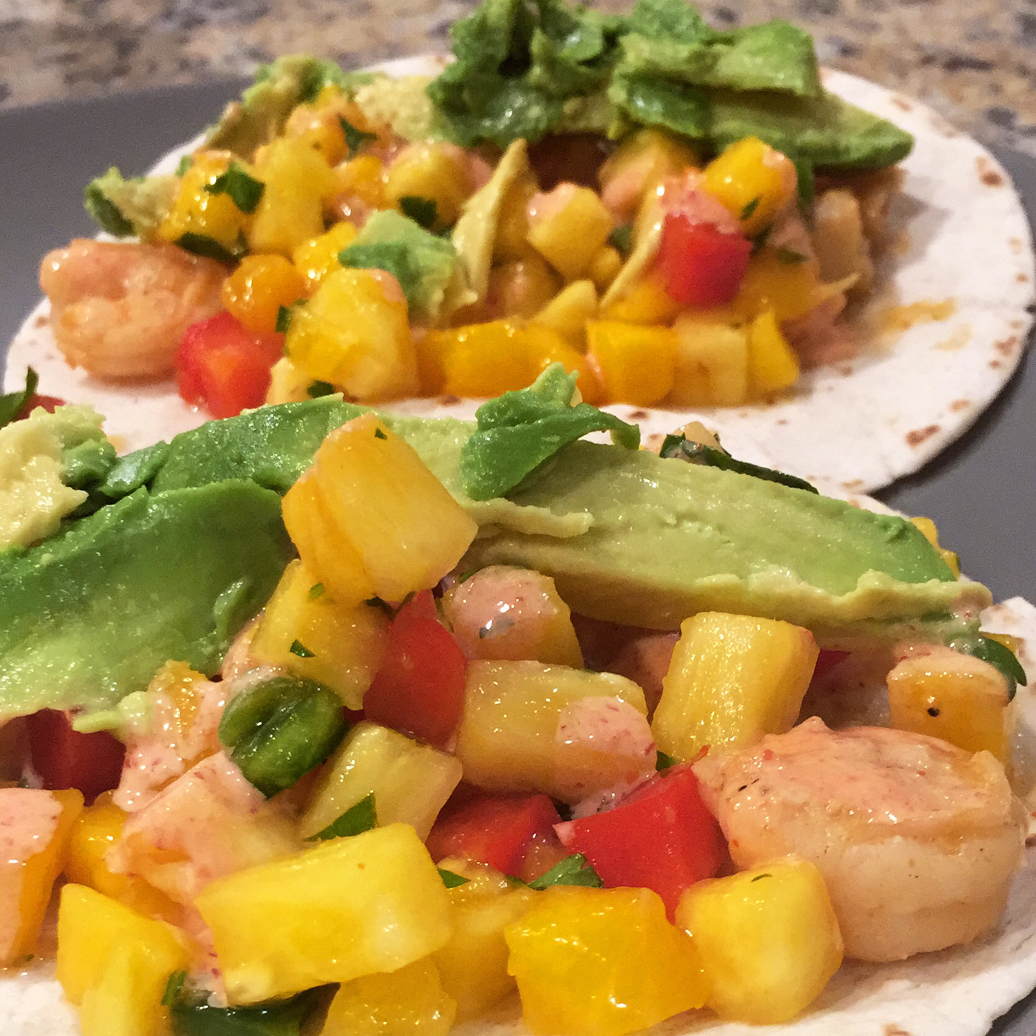 Spicy Shrimp Tacos Joelle