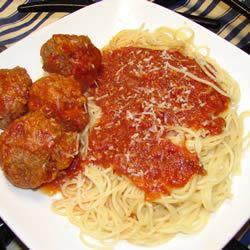 Spaghetti With Marinara Sauce GodivaGirl