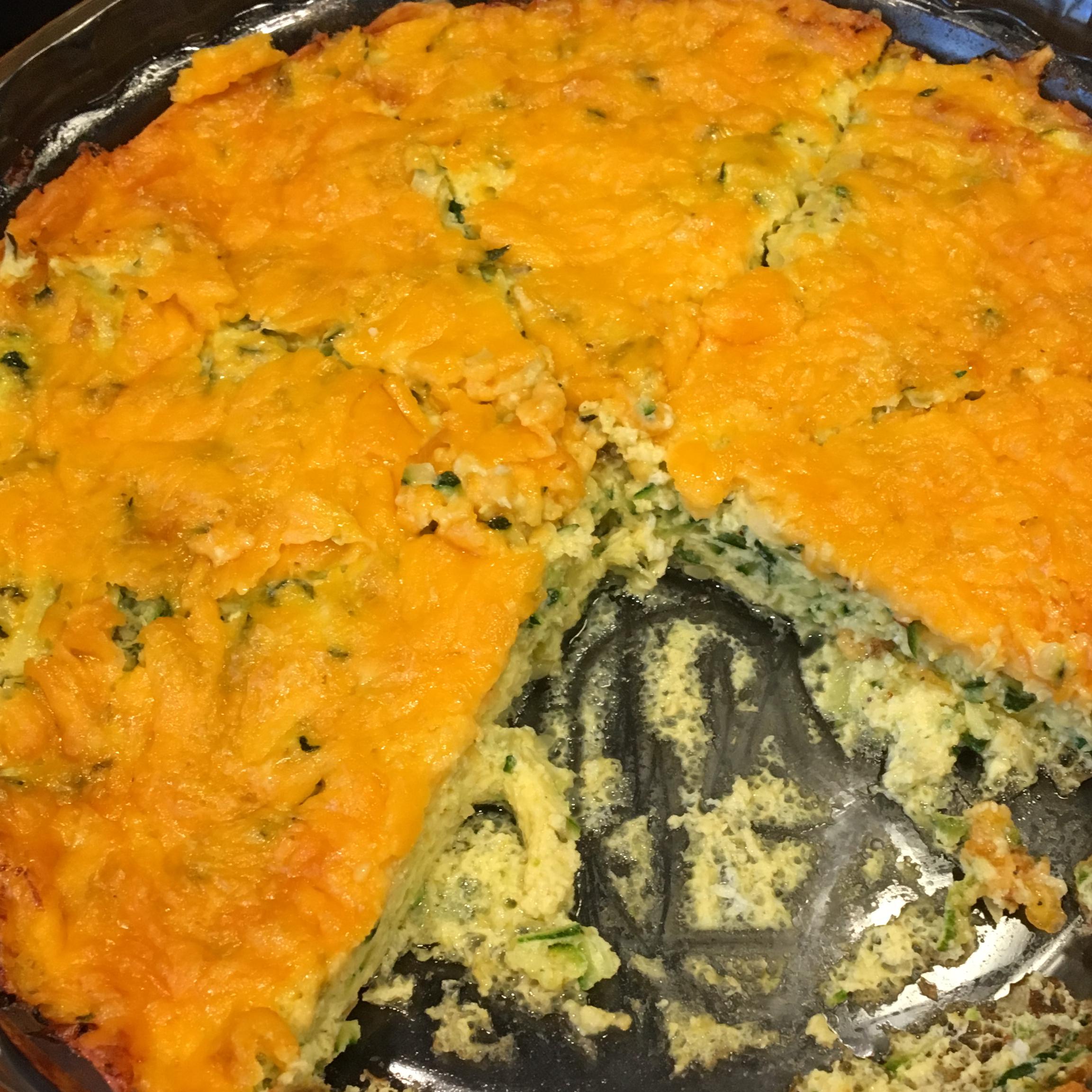 Easiest Zucchini Quiche