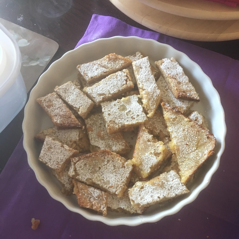 Gluten-Free Lemon Squares with an Almond Flour Crust