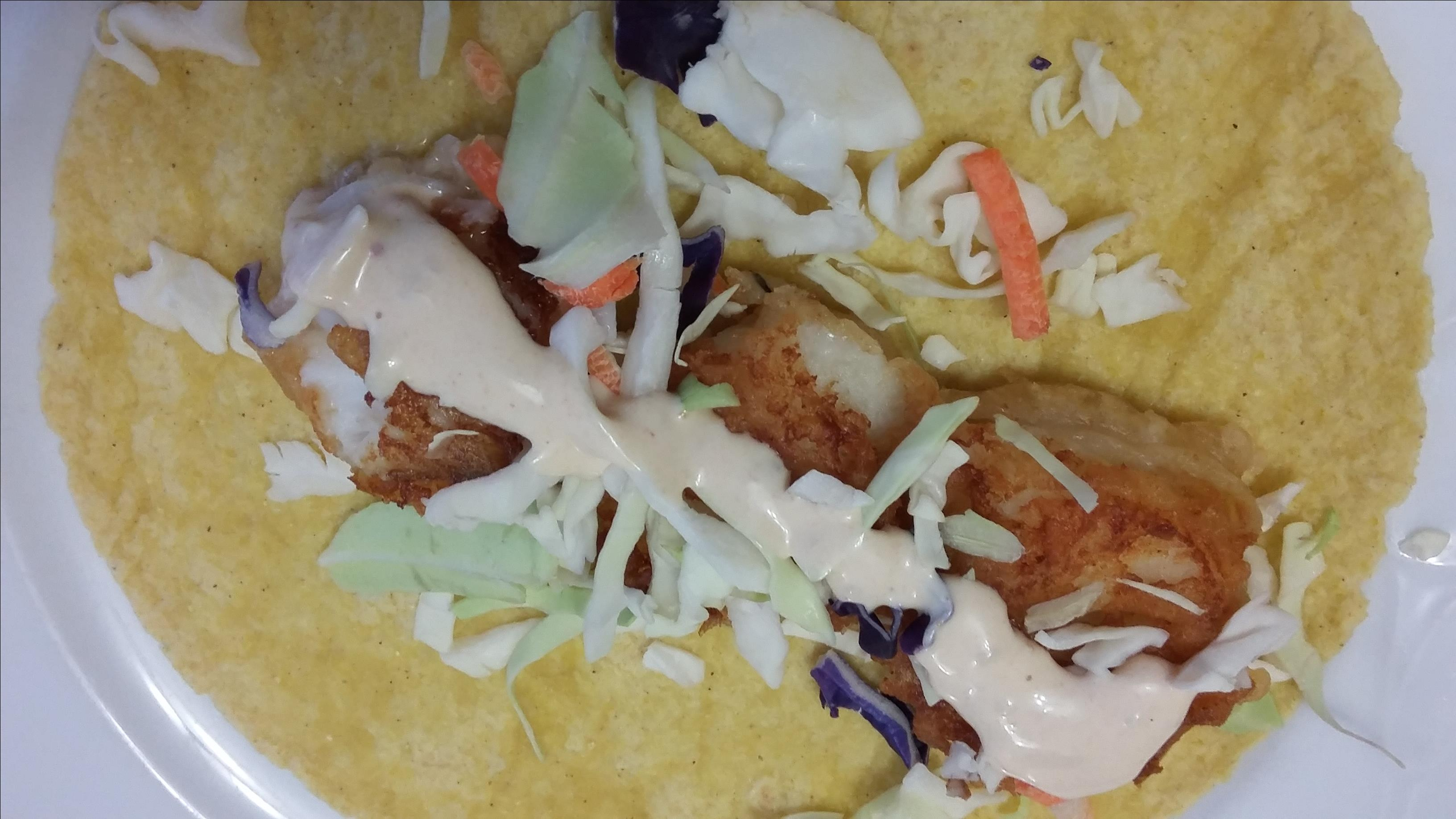 Wonderful Fried Fish Tacos the4taals
