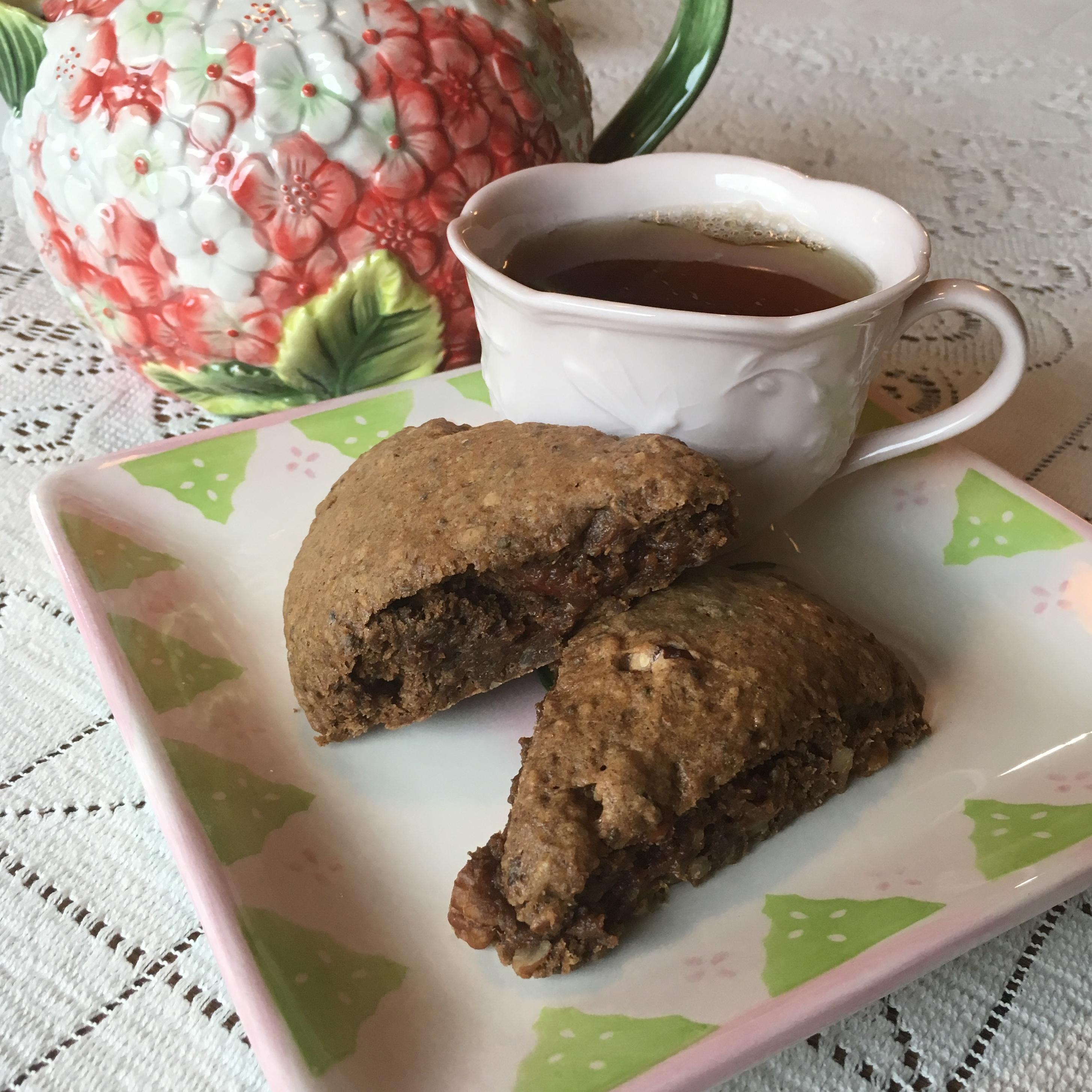 Vegan Gingerbread Scones Paula