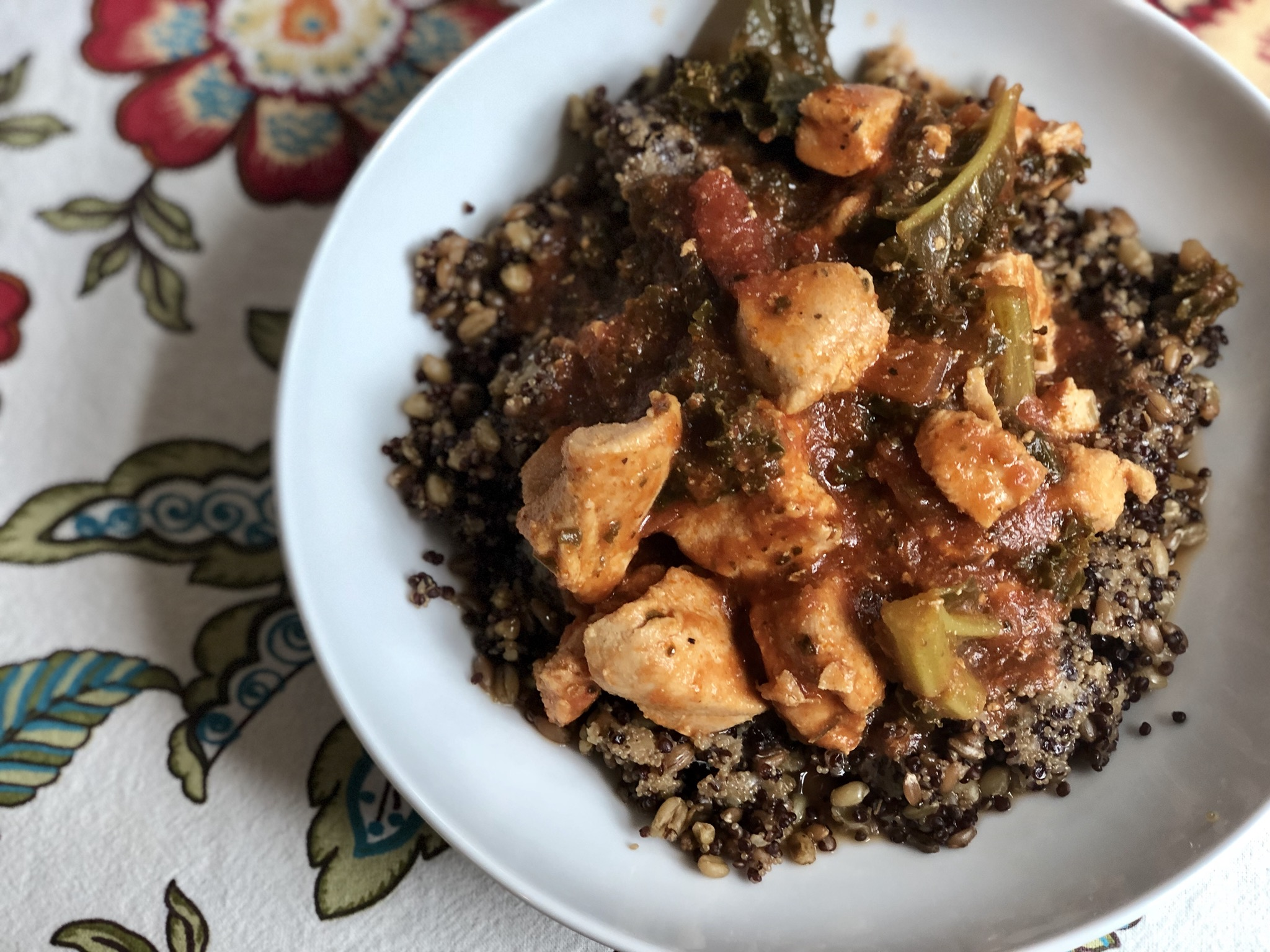 Instant Pot® Keto Chicken and Kale Stew