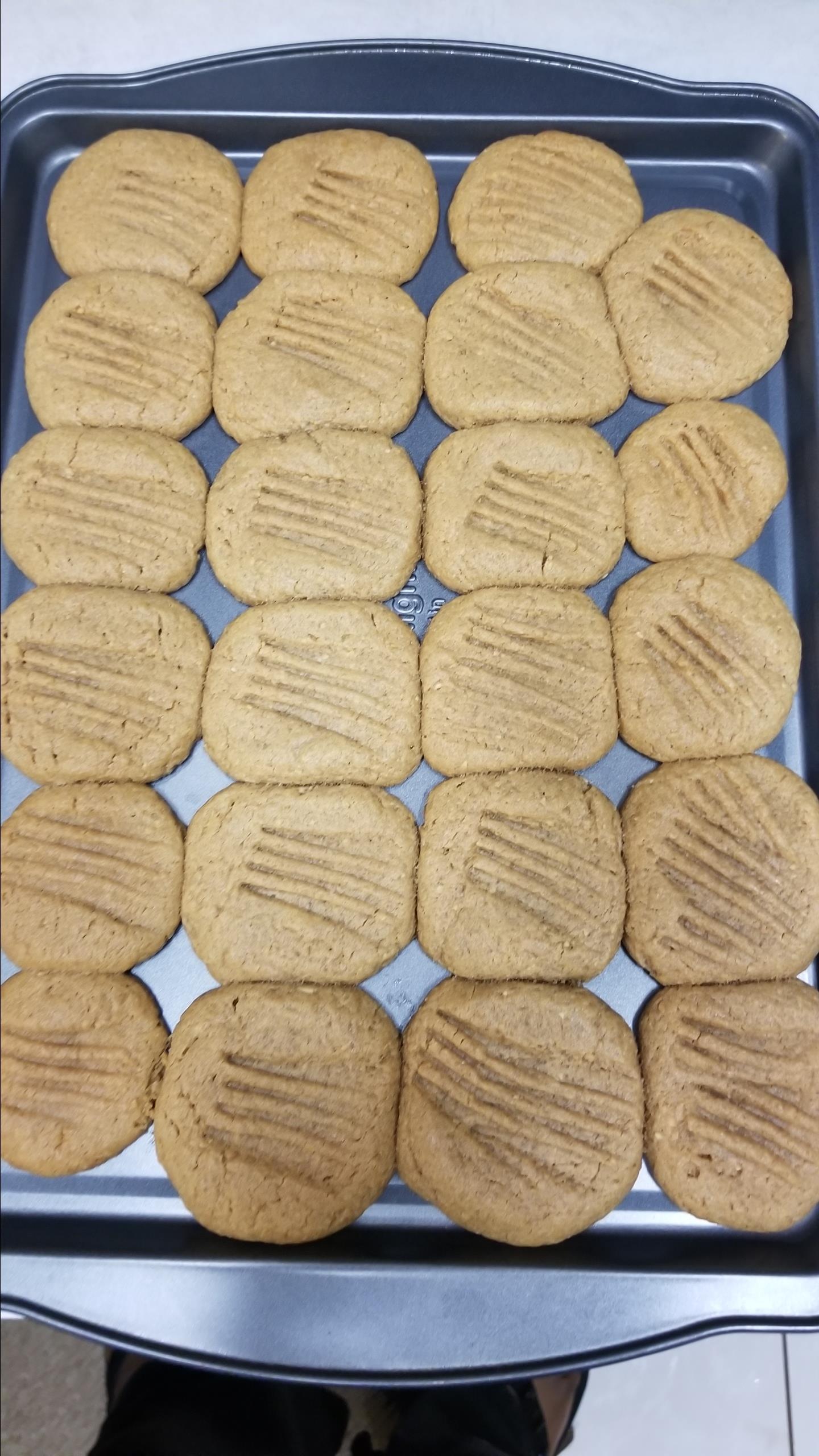 Flourless Peanut Butter Cookies Ramona Graham- Smith