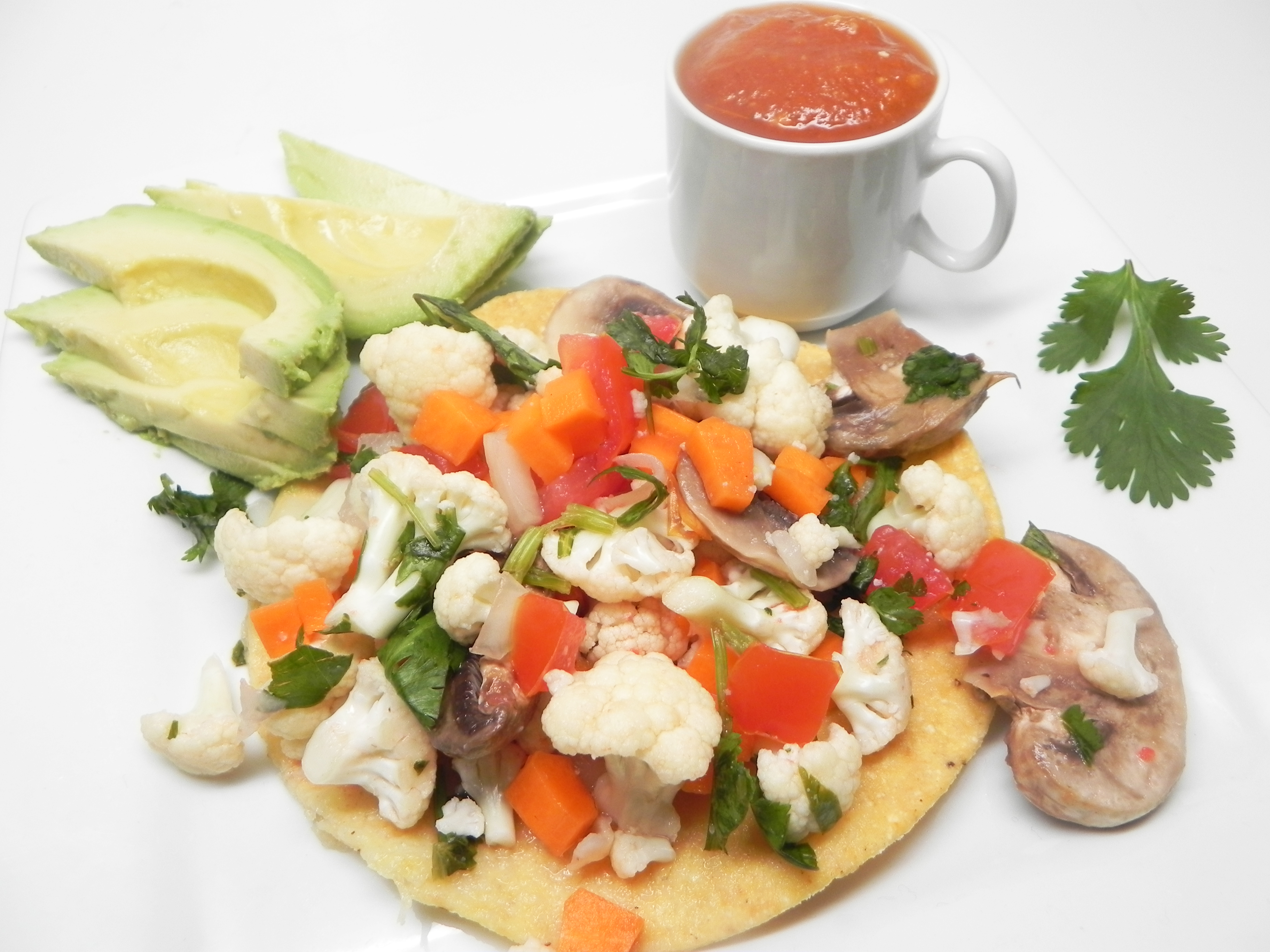 Raw Vegetable Ceviche