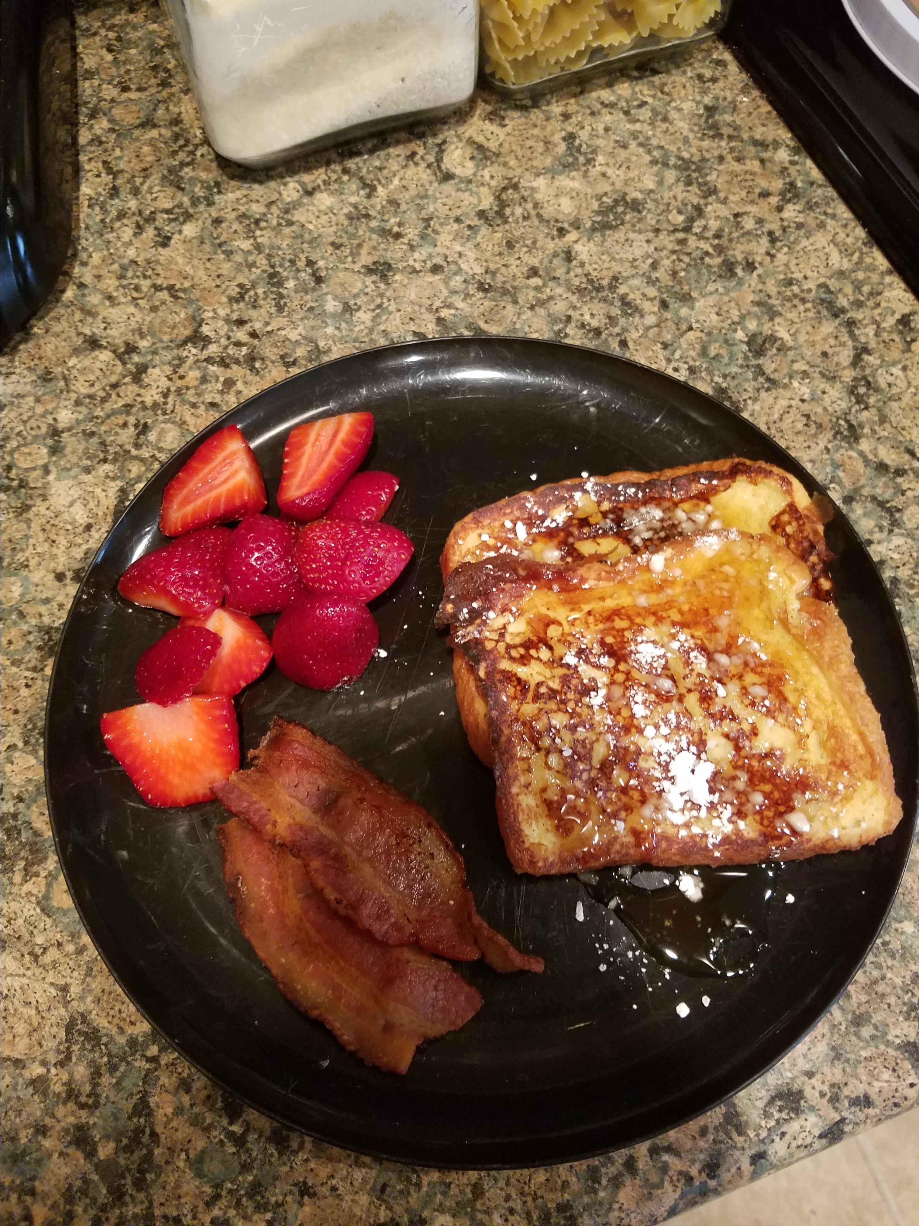 Buttermilk French Toast with Maple Syrup S. Clark