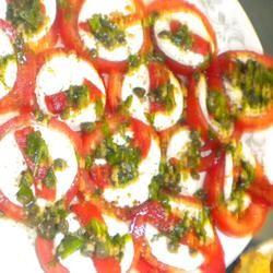 Mozzarella and Tomato Appetizer Tray MayBe27