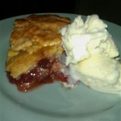 Cranberry Apple Pie I honeysoda