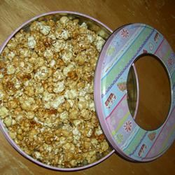 Microwave Caramel Popcorn mrscallietea