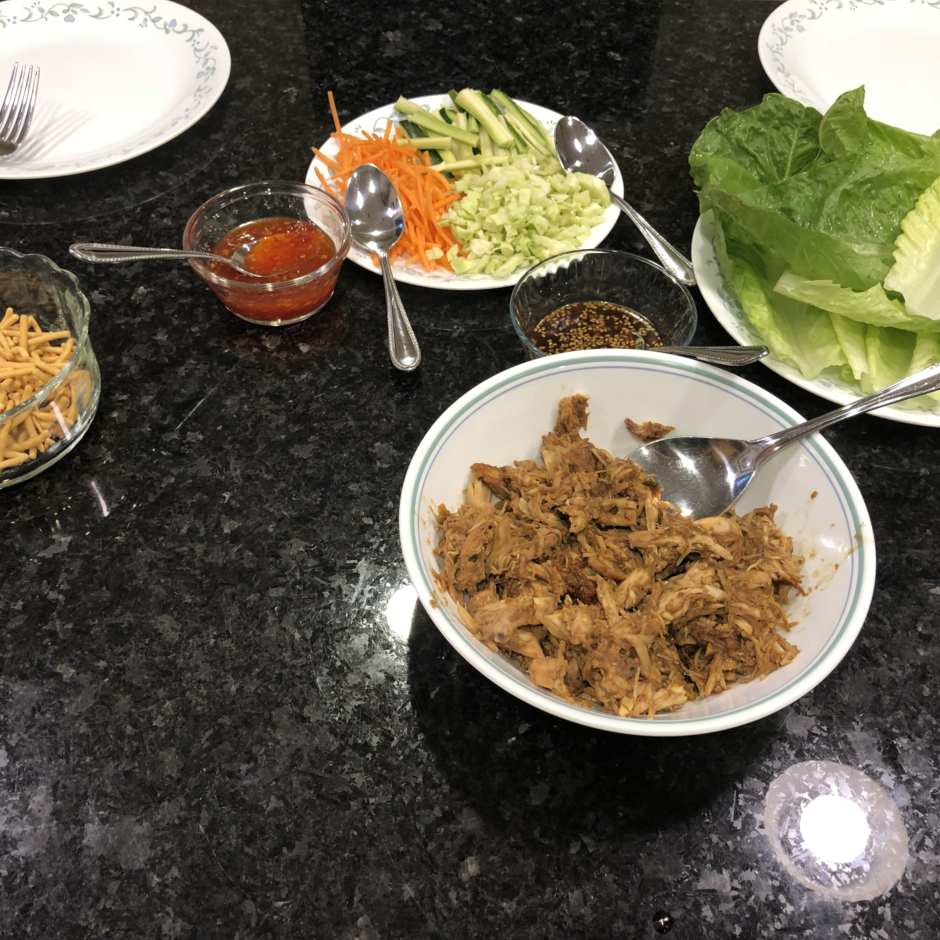 My Thai Chicken Wraps Steven Summers