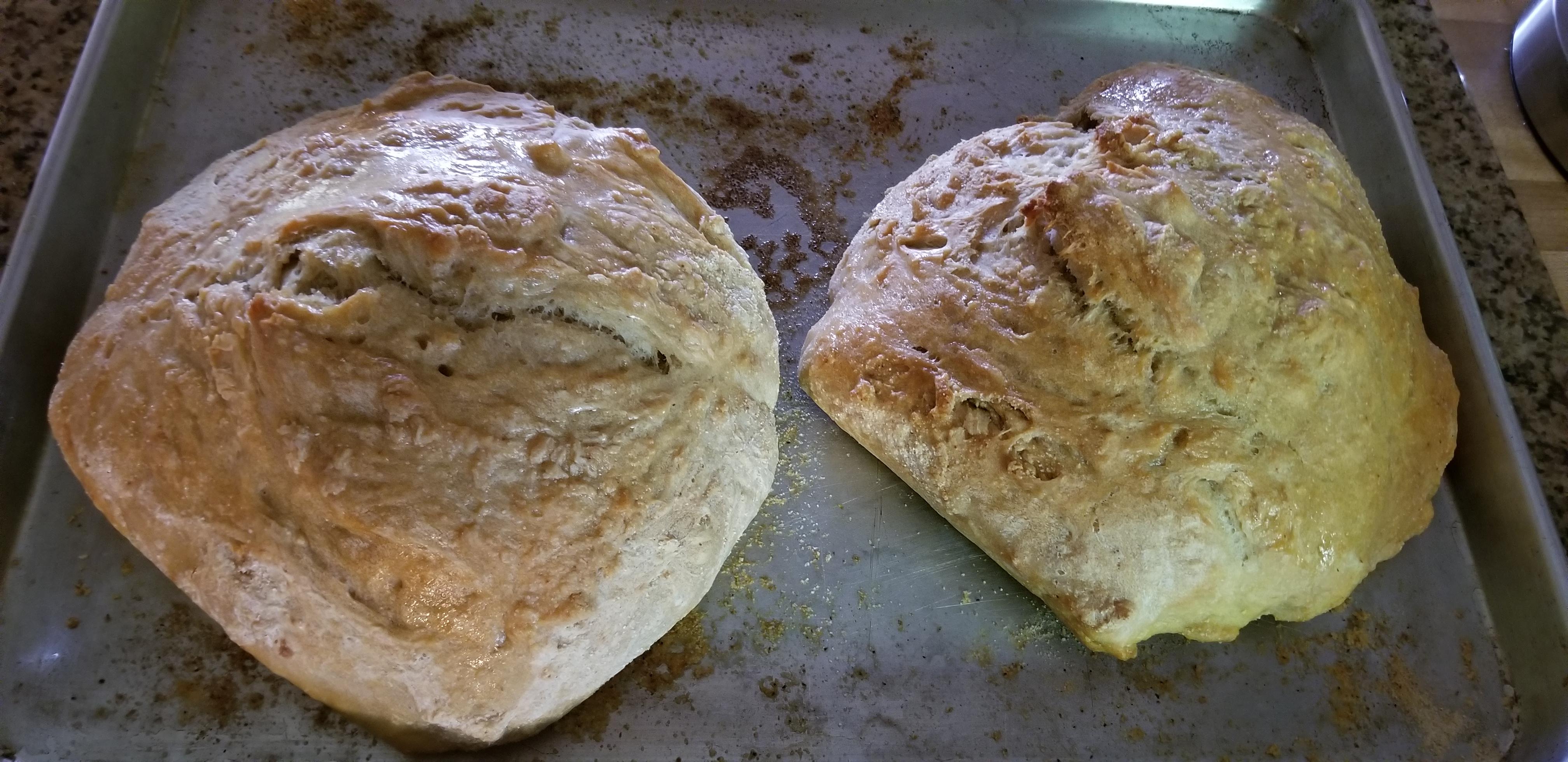 Effortless Rustic Bread Susan Falcone Daquino