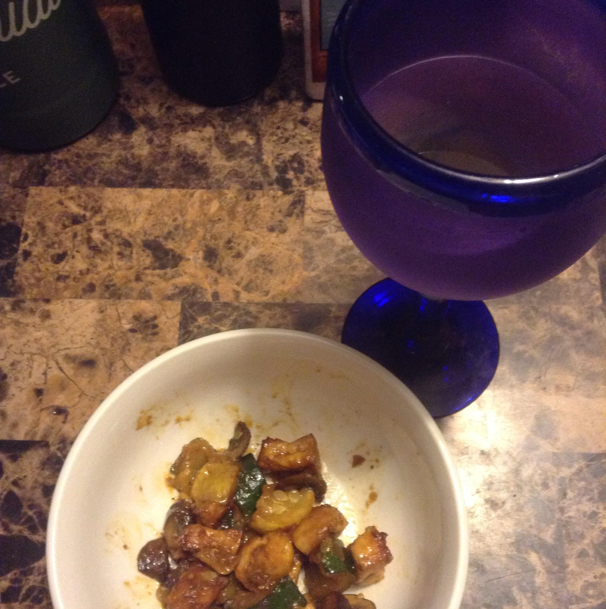 Yellow Squash and Tofu Stir Fry WhiteCoatSyndrome
