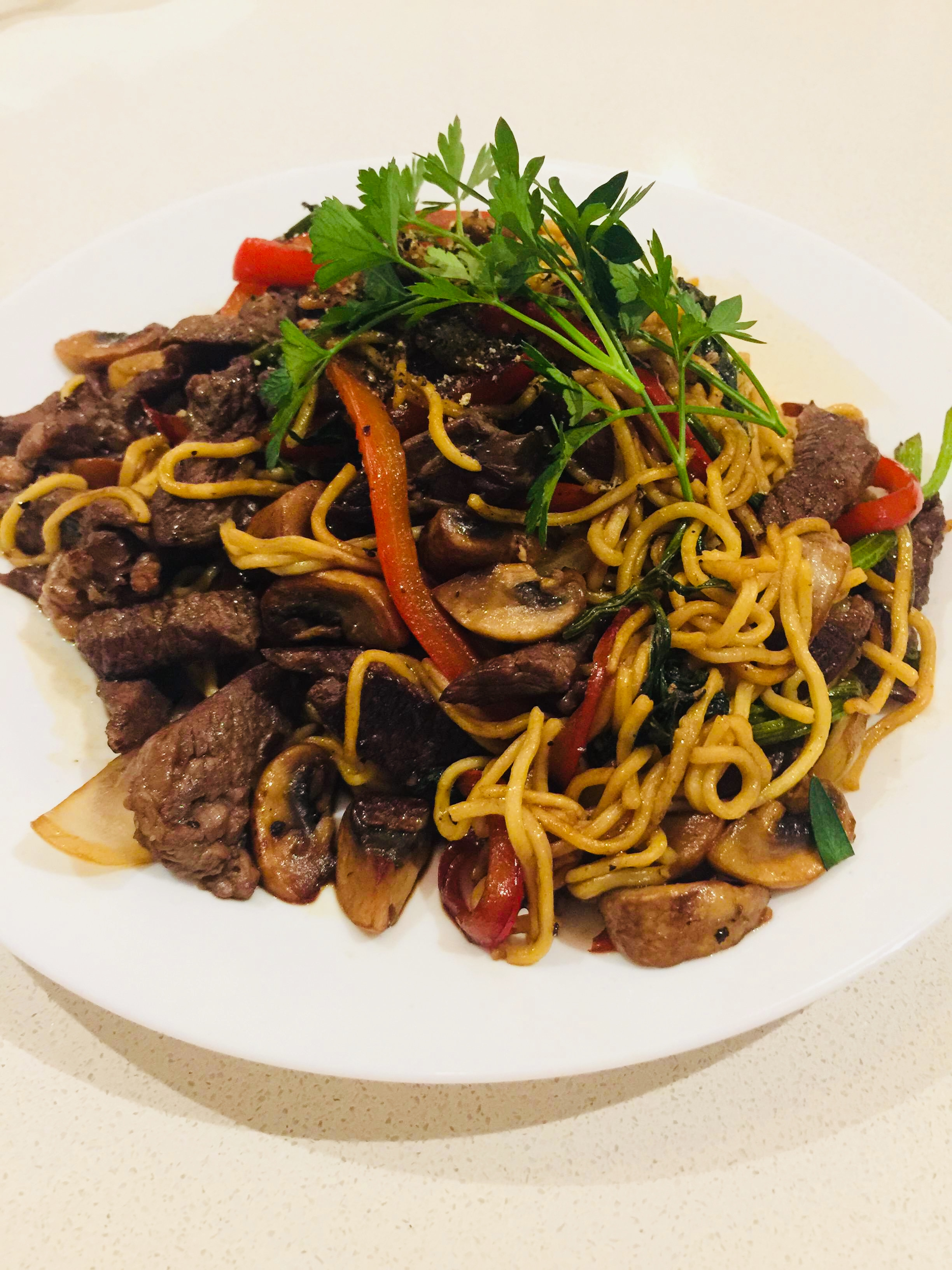 Quick Beef Stir-Fry Tam Le