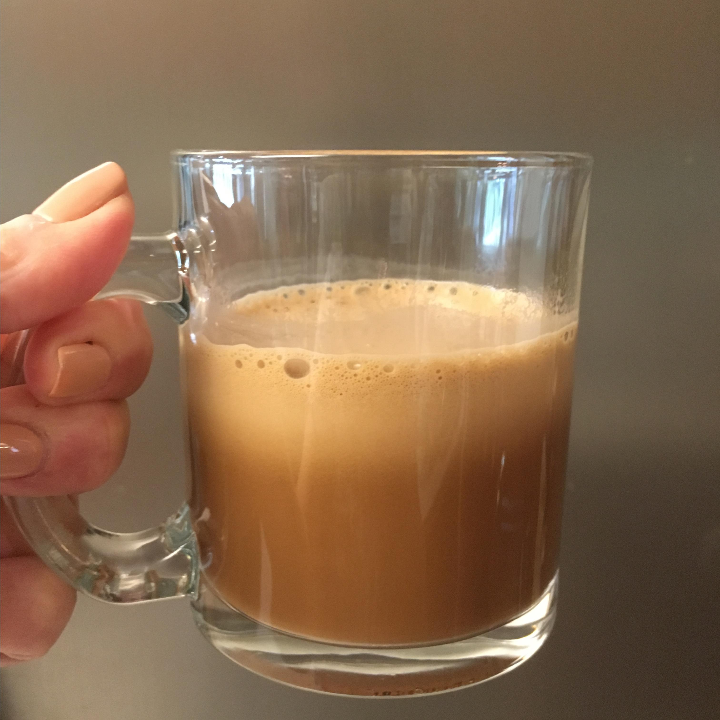 Paleo and Keto Almond Butter Mocha for Two Paula