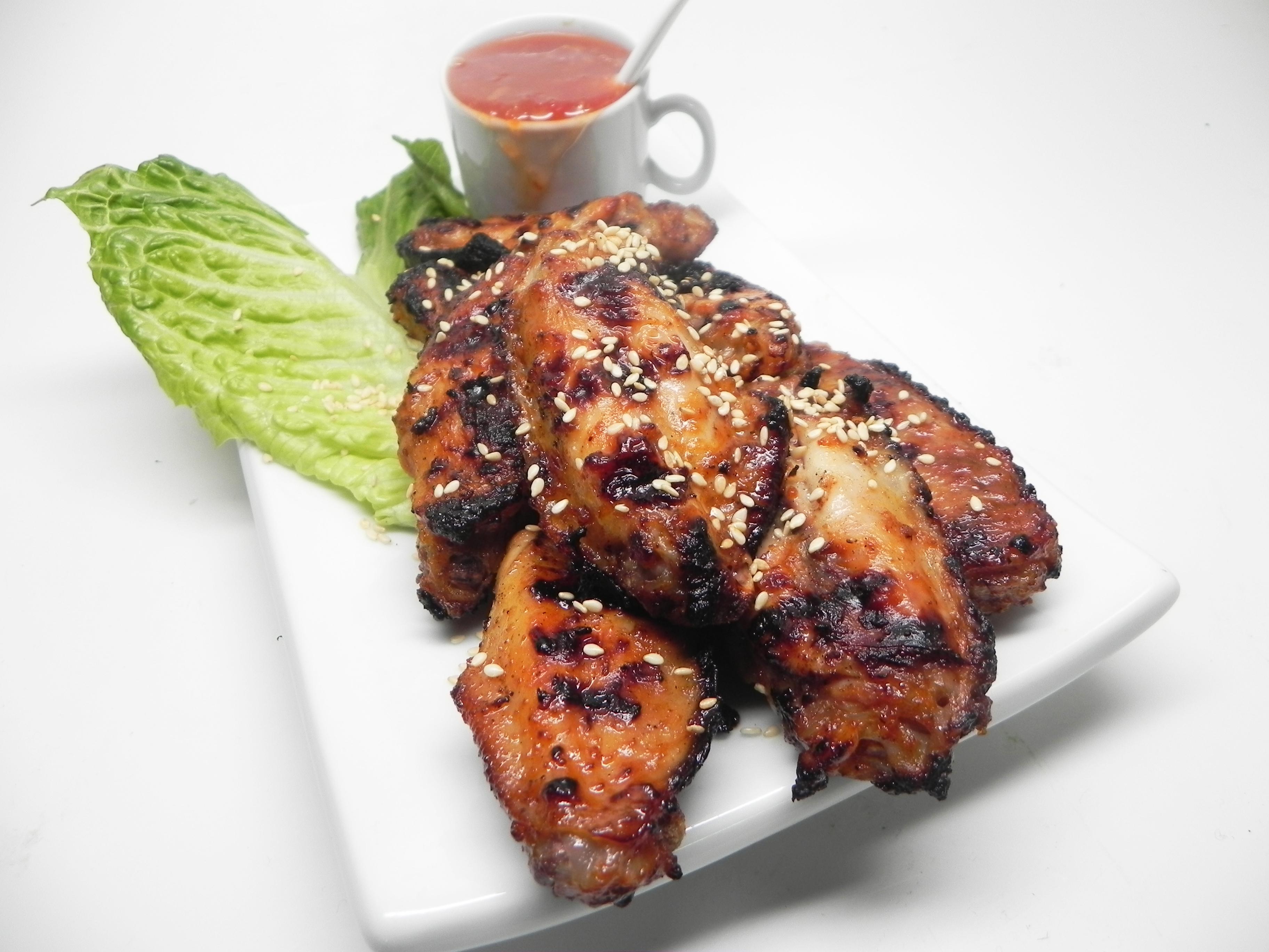 Asian Twist Chicken Wings Erin