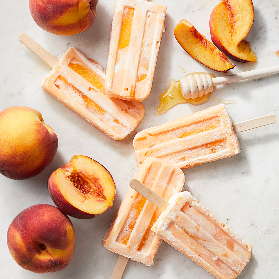 Creamy and delicious, this popsicle will satisfy your sweet tooth while keeping you cool on a hot summer day. Source: Diabetic Living Magazine
