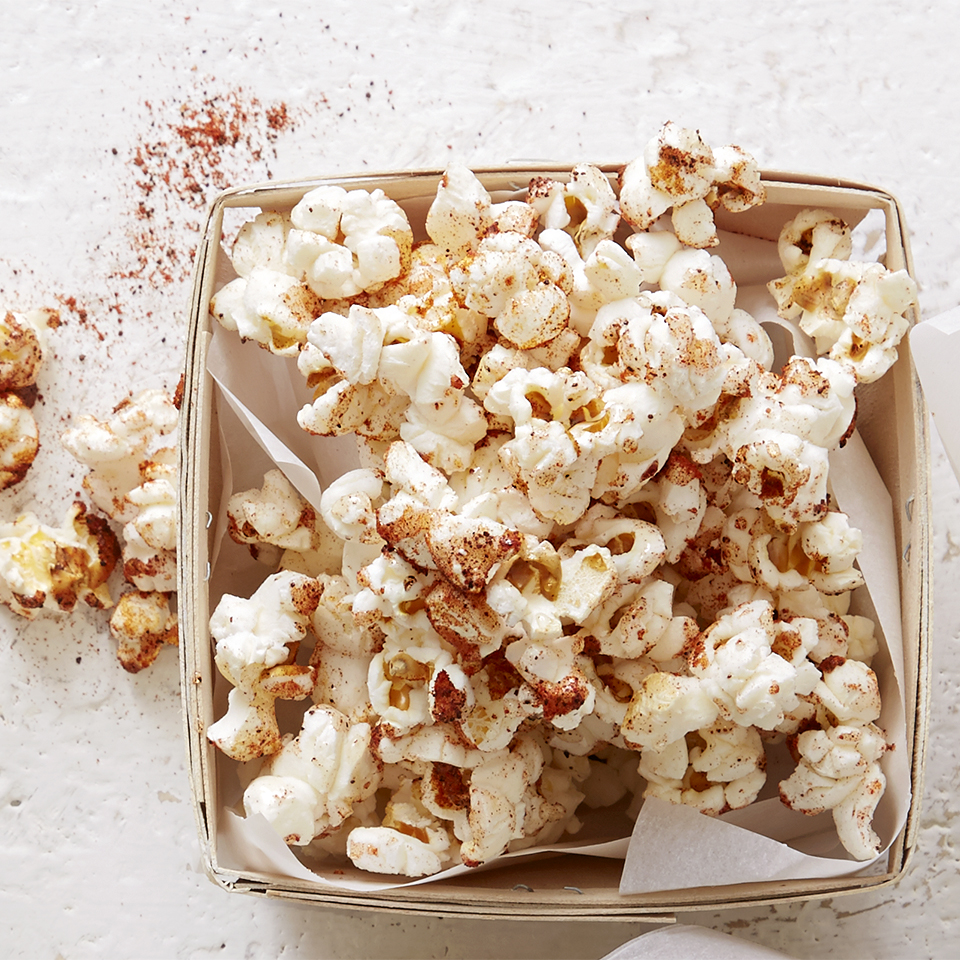 Honey and chili powder create the perfect mix of sweet and spicy popcorn. Source: Diabetic Living Magazine