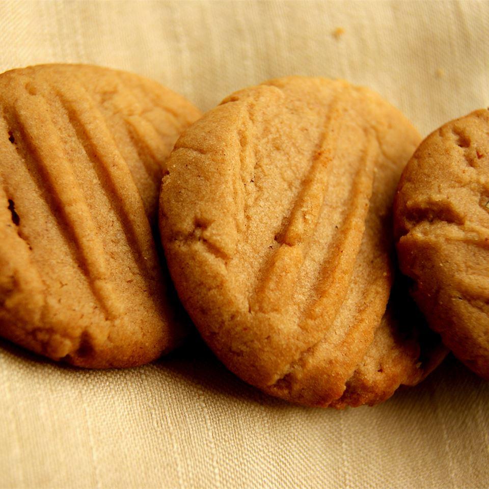 Eggless Peanut Butter Cookies athisaya