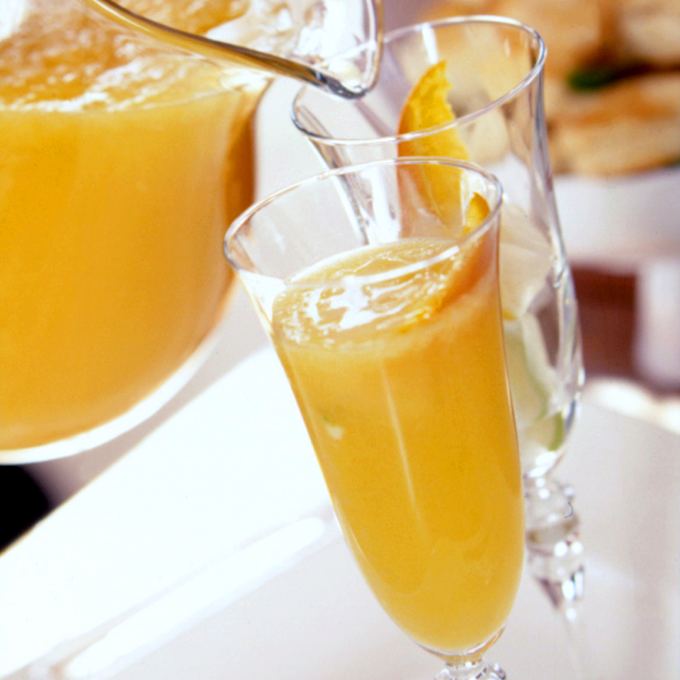 Fruit juice and champagne make this drink recipe refreshingly tasty to serve while entertaining.