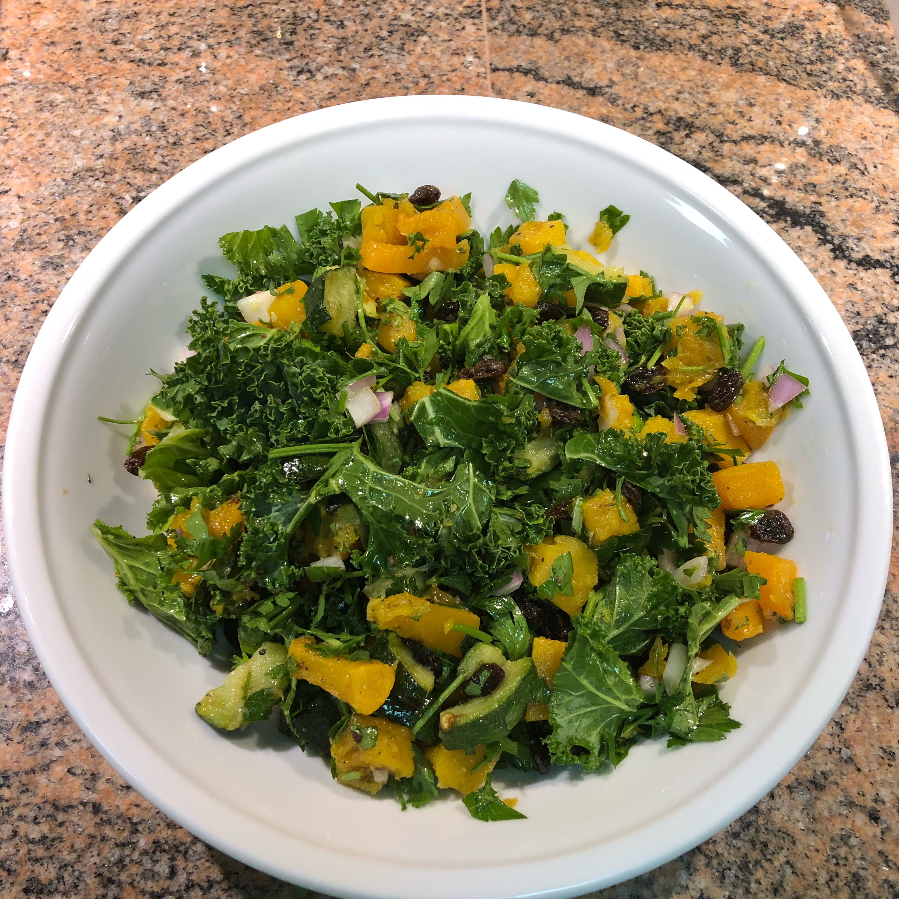 Quinoa, Butternut Squash, and Kale Salad marty