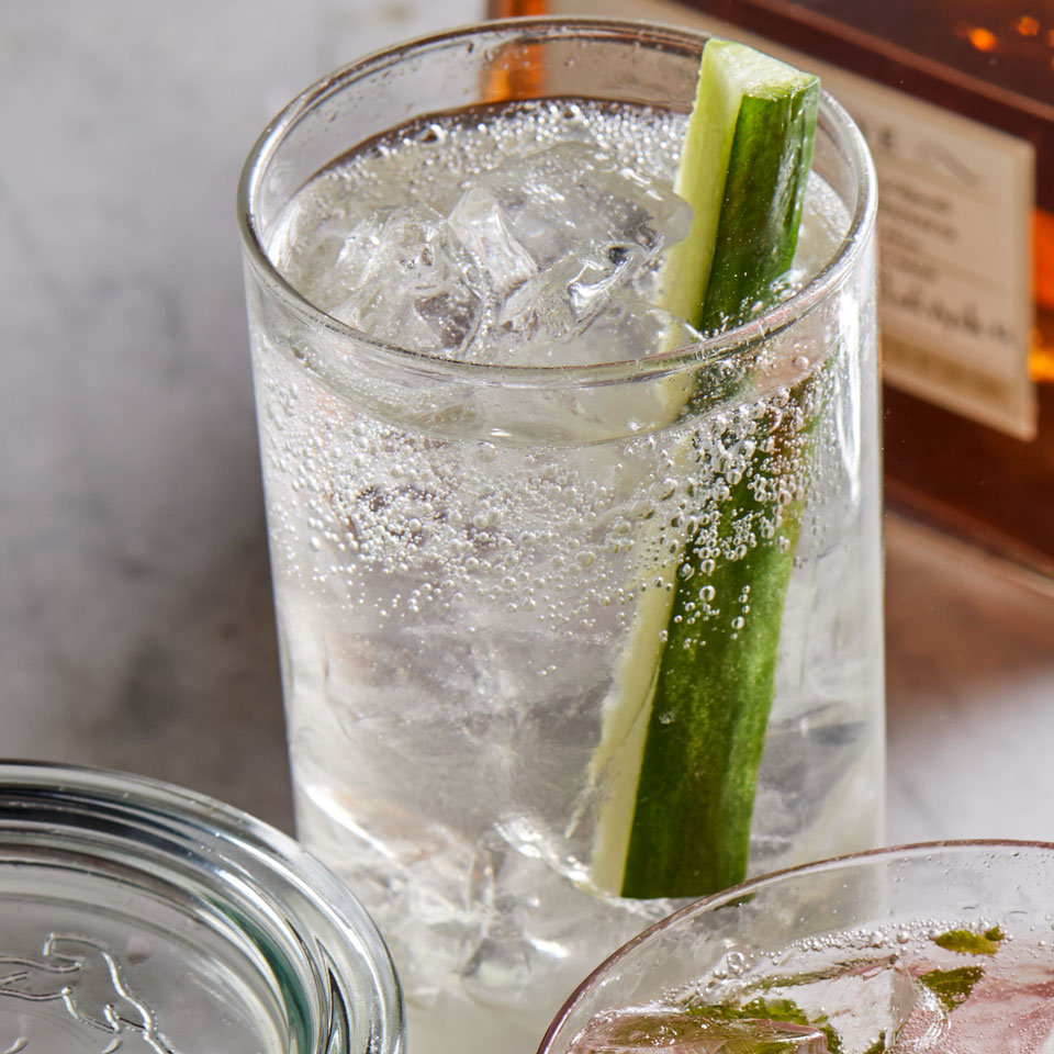 Lavender-Cucumber Gin & Tonic Trusted Brands