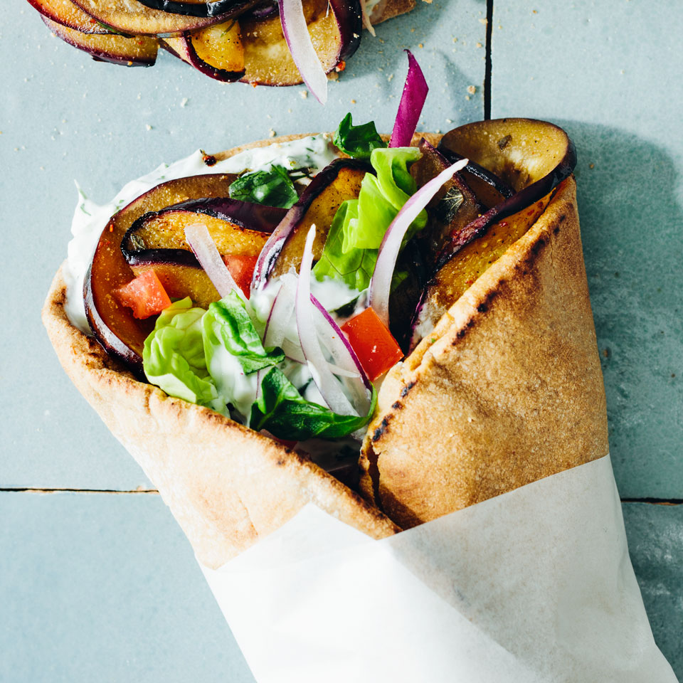 Eggplant Gyros Trusted Brands