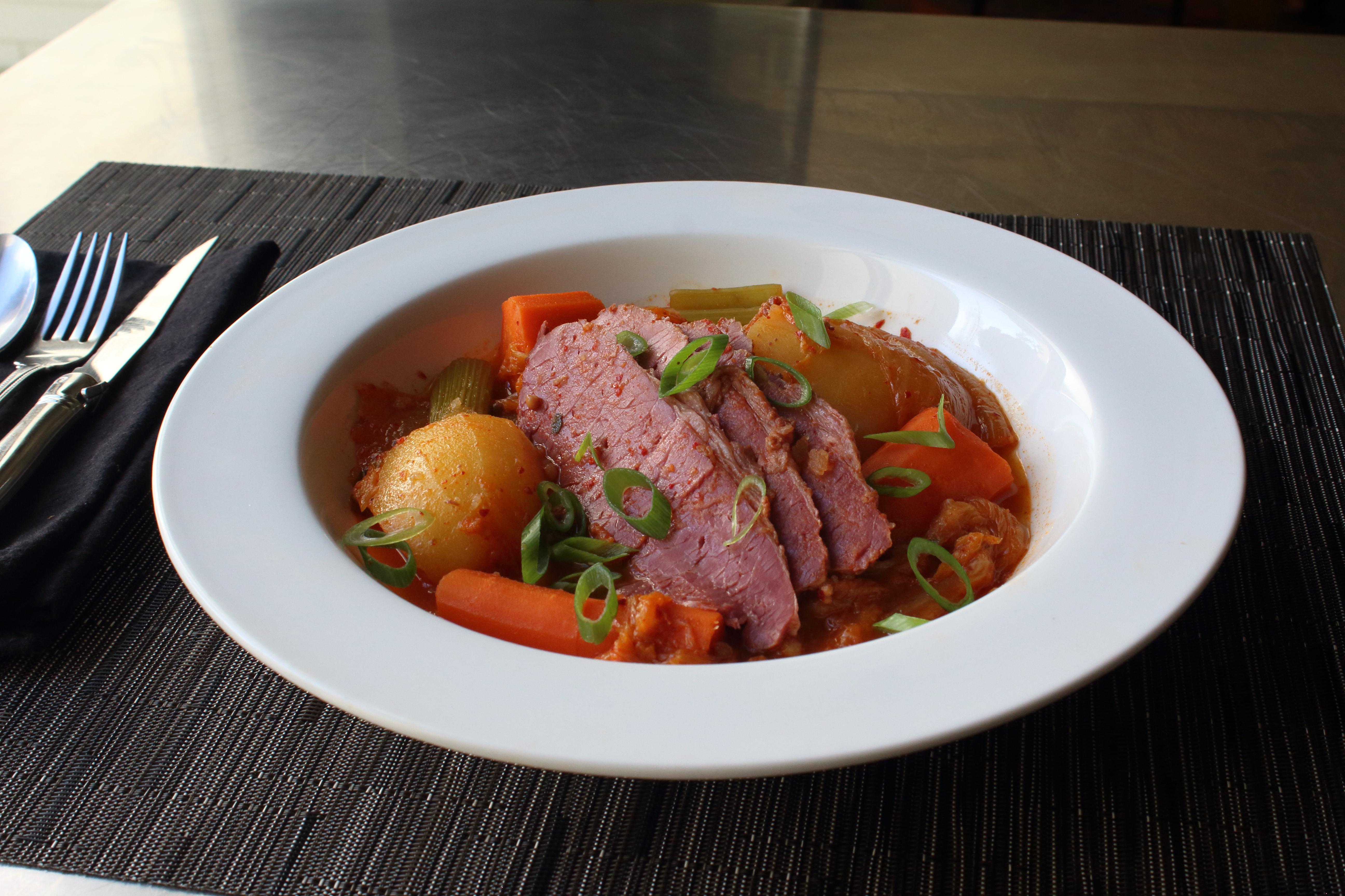 Kimchi Corned Beef