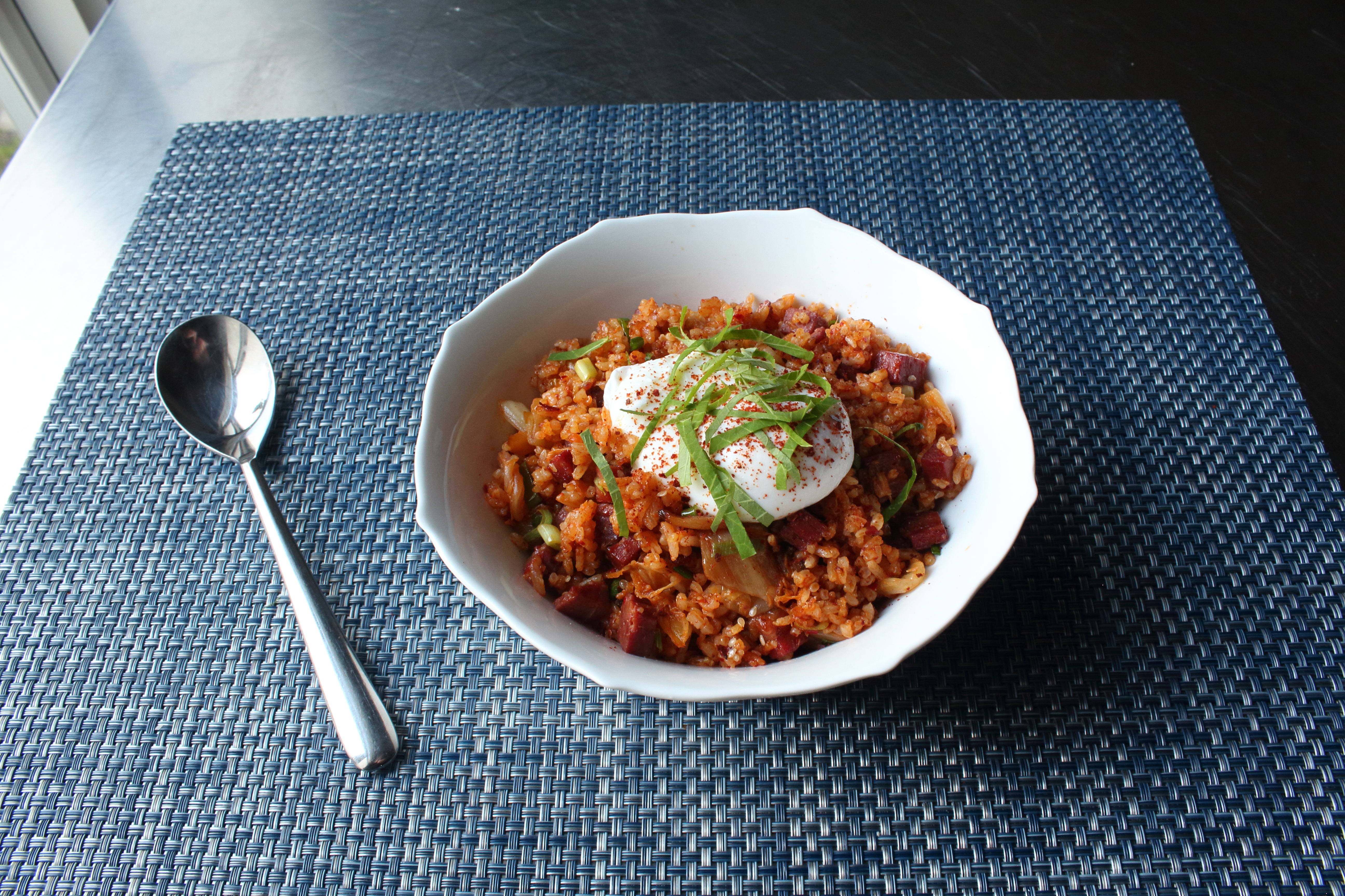 Corned Beef Kimchi Fried Rice Chef John