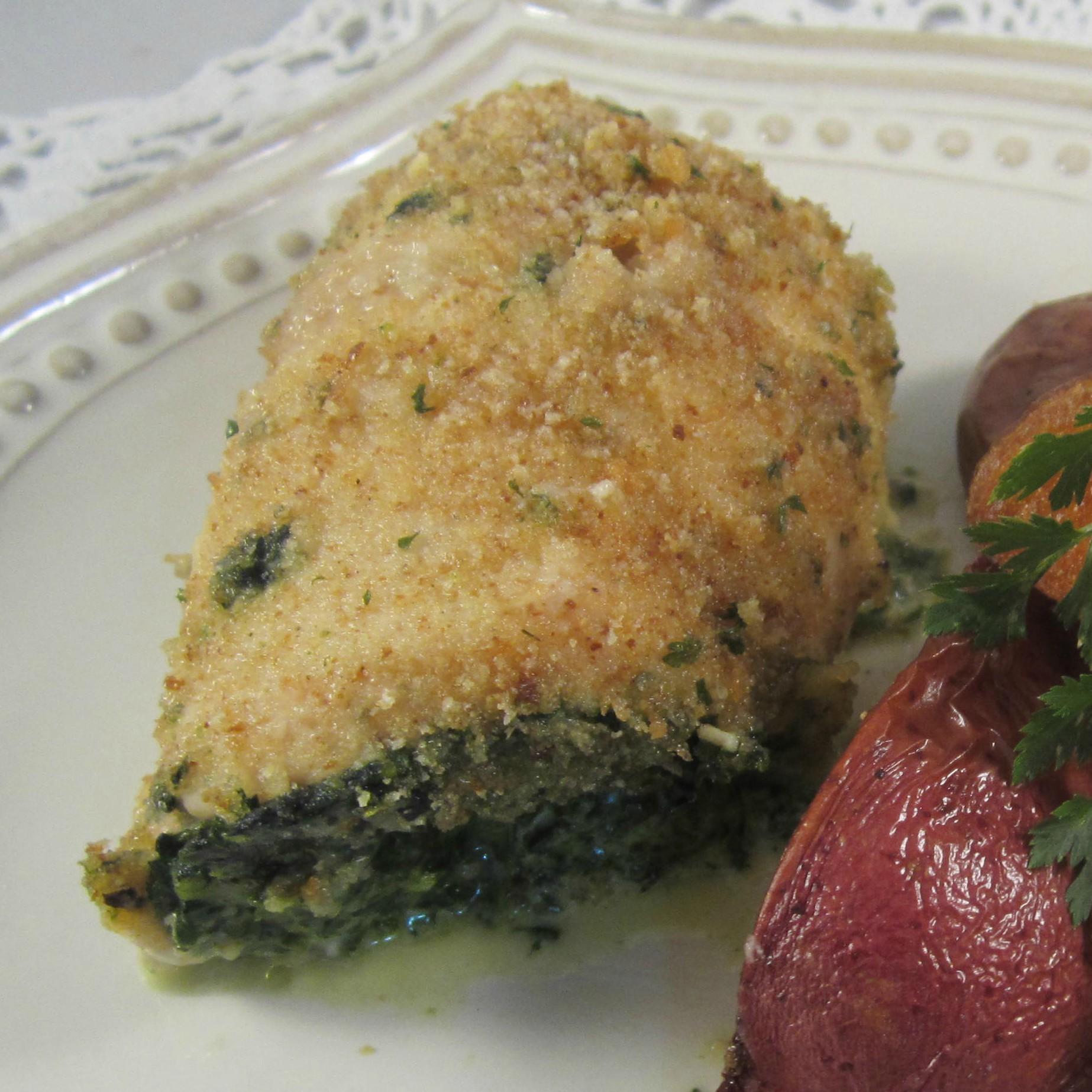 Spinach Pesto Chicken Rolls Deb C