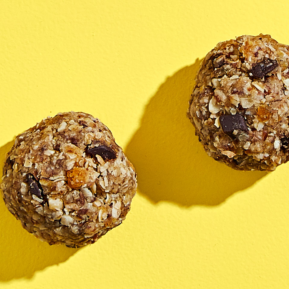 Never skip breakfast again: keep these coconut and date breakfast bites in the fridge or freezer, and you'll always have a grab-and-go option for busy mornings. Source: Diabetic Living Magazine, Summer 2018