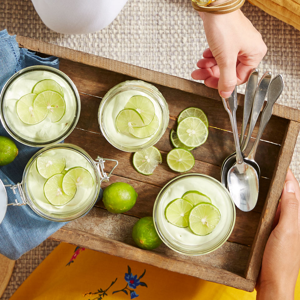 Key Lime Mason Jar Cheesecakes Diabetic Living Magazine