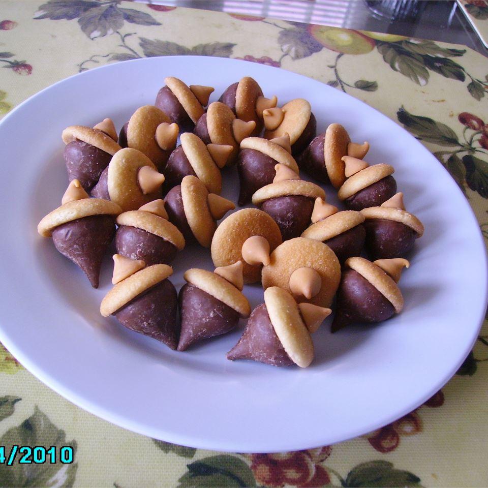 Acorn Candy Cookies Christina