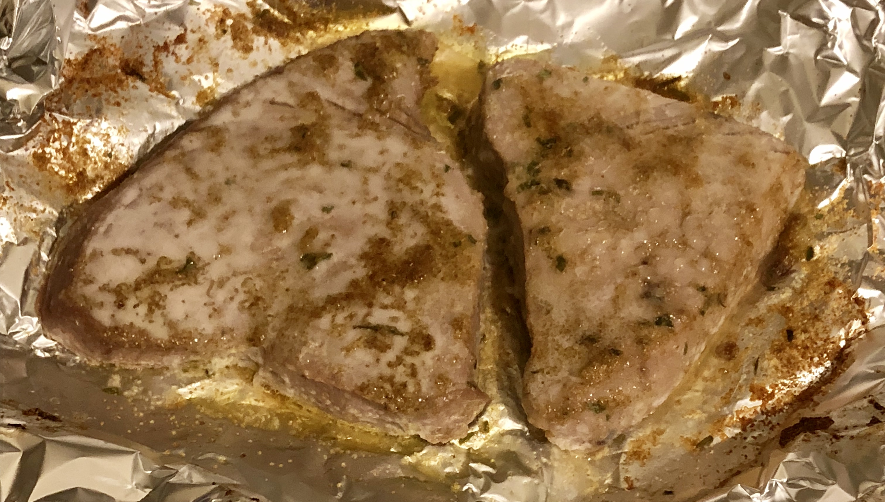 Indian-Spiced Baked Fish